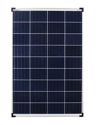 enjoysolar® Poly 100W Polykristallines Solar panel 100Watt ideal für Wohnmobil, Gartenhäuse, Boot … (Einzelpack)