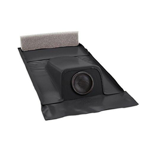 Dachdurchführung für Tondachziegel Schwarzgrau